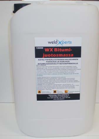 WX Bitumijuotosmassa