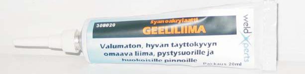 Syanoakrylaatti Geeliliima