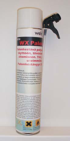 WX Palokatkomassa