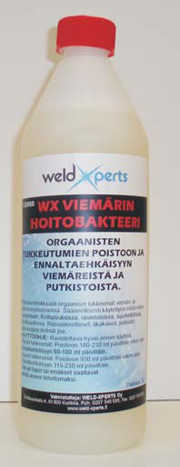 WX Viemärinhoitobakteeri